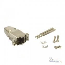 Capa Para Conector Db09/db15 Vga Metal
